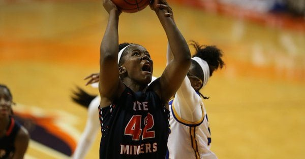 Seda Snags 13th Double-Double as Miners Clipped At Southern Miss 60-53