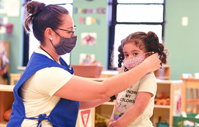 Bliss child care officials share solutions during COVID-19 pandemic