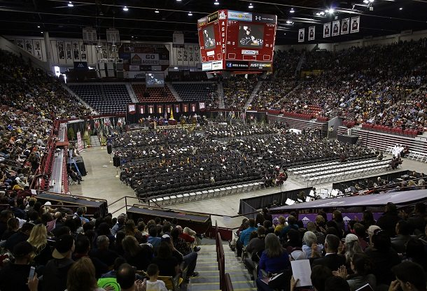 NMSU Students to Fill the Pan Am Center for Commencement Ceremonies this Weekend