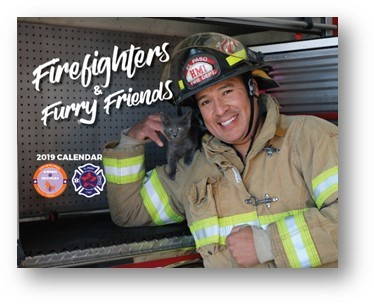 "EPFD, Animal Services Announce New ""Firefighters and Furry Friends"" Calendar"