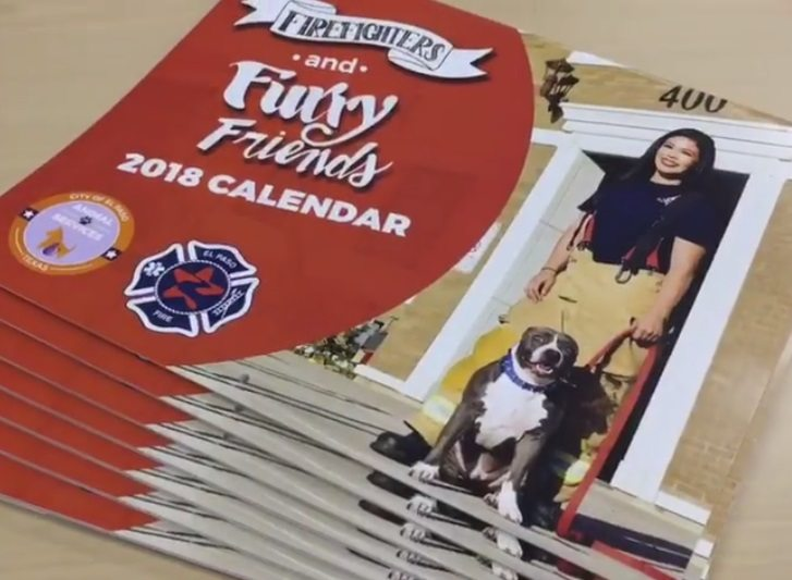 """New EPFD """"Firefighters and Furry Friends"""" Calendar on Sale"""