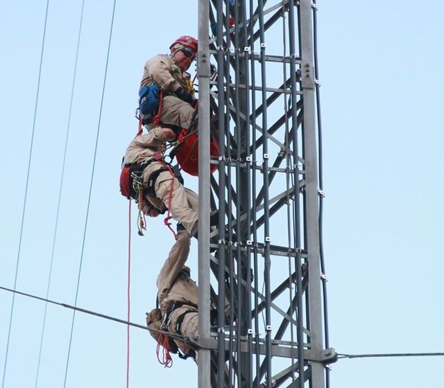 El Paso Fire Department crews undergo tower training