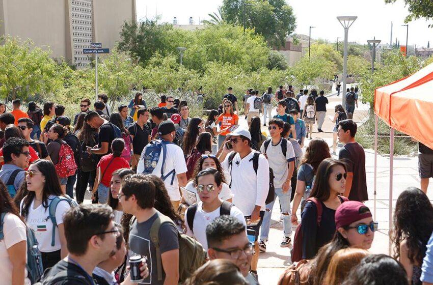 UTEP's Fall 2017 Enrollment Reaches All-Time High