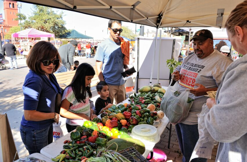 Celebrate National Food Day at the Downtown Art and Farmers Market