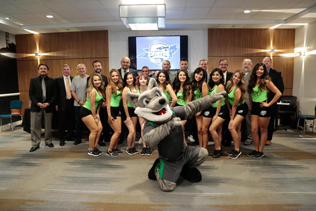 El Paso Coyotes Introduce Players, Dance Team and Mascot