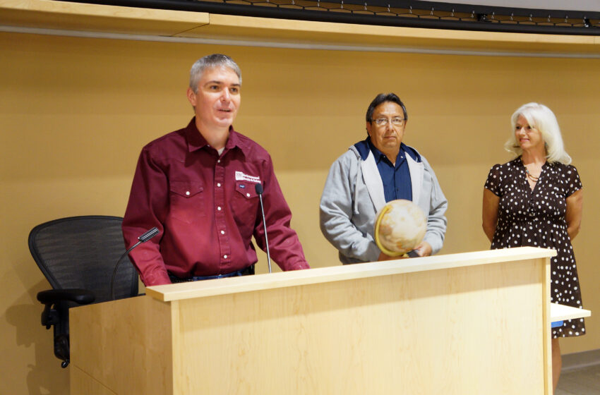 NMSU Utility Plant Operator receives Friend of Safety Award