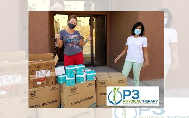Local doctor donates masks, gowns to El Paso ISD nurses
