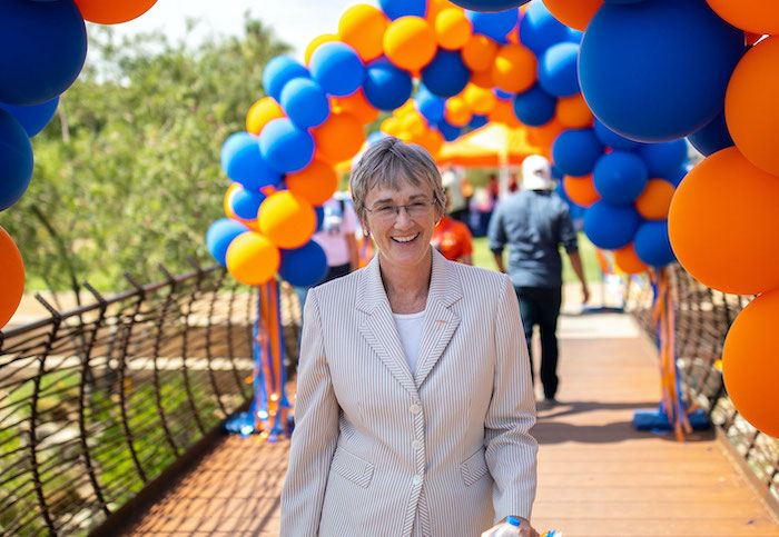 UTEP President Heather Wilson releases statement on area's Covid-19 surge