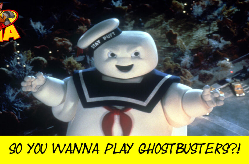 Ghostbusters by Cryptozoic Entertainment