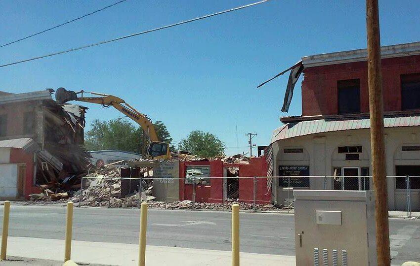 Fabens Residents, Borderland Preservationists Express Sadness, Outrage over Demolition of Trost Building