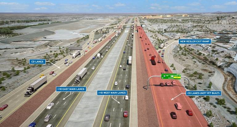 TxDoT/Go10 Project Closures, Detours for Week of January 20