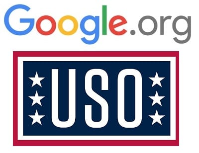 Google.org Awards $2.5M Grant To USO; Will Assist El Paso Veterans, Military Members, Spouses