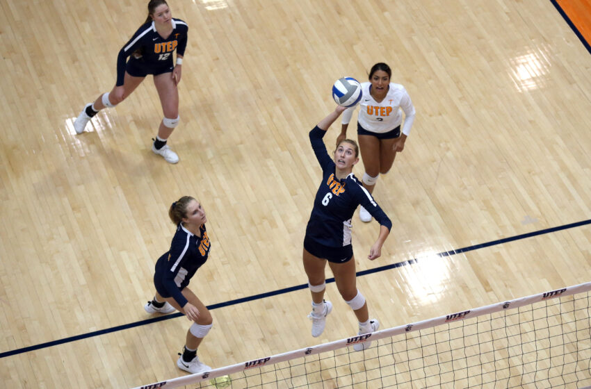 UTEP Volleyball Falls In Conference Home Opener