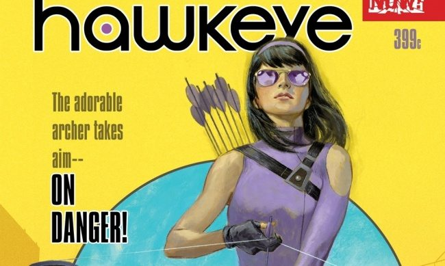 TNTM: Marvel Comics Hawkeye is now a girl!