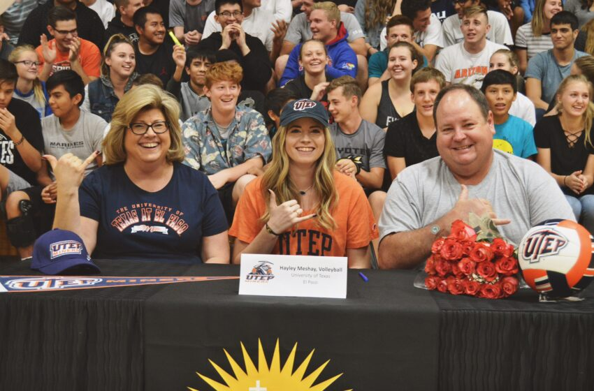 Hayley Meshay Joins UTEP For 2018 Volleyball Campaign