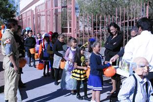 La Fe Prep students set to Trick or Treat in South El Paso