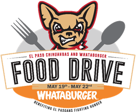Chihuahuas, Whataburger Team Up for Annual Food Drive at Southwest University Park