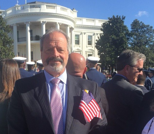Mayor Leeser attends ceremony with Pope Francis at White House