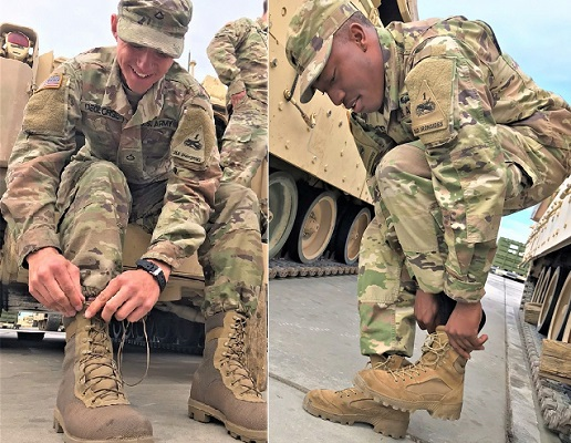 Iron Soldiers Pave the Way in Army Footwear