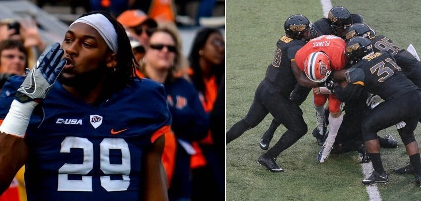 Former Miners Jones, Plinke invited to NFL Combine in Indianapolis