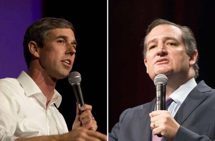 Ted Cruz Proposes 5 Debates with Beto O'Rourke in U.S. Senate Race