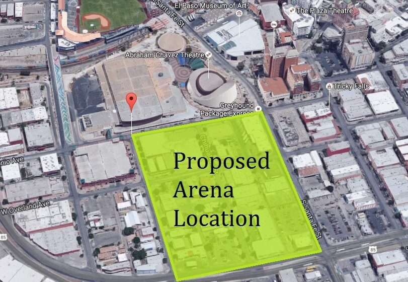 City to Negotiate Land Purchase from Select Downtown Property Owners for New Arena