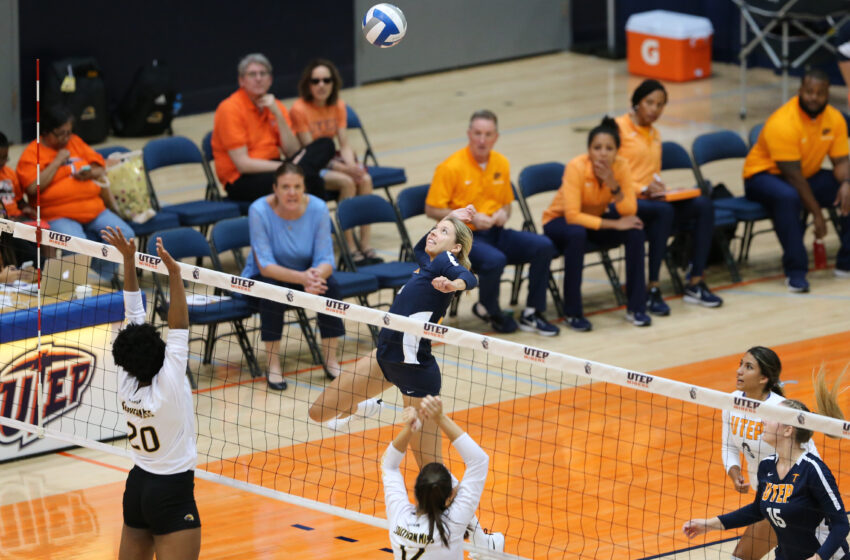 UTEP Volleyball Pushes UTSA To the Brink