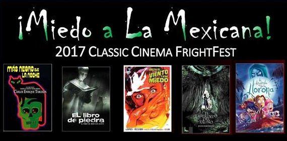La Fe Hosting 2017 Miedo a La Mexicana Cinema FrightFest