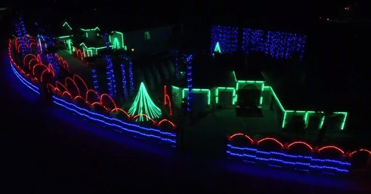 Video: Fred Loya Announces Schedule, Info for Yearly Christmas Light Show