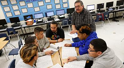 Bowie Students help Families file Income Tax Forms