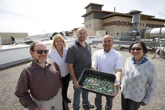 UTEP Team Finds How Wind Moves Microinvertebrates Across Desert