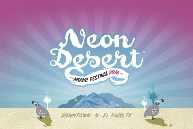 Neon Desert Music Festival announces Line Up for Two Day event