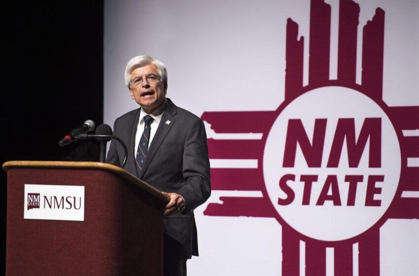 NMSU Regents Select Dan Arvizu as Chancellor, John Floros as President