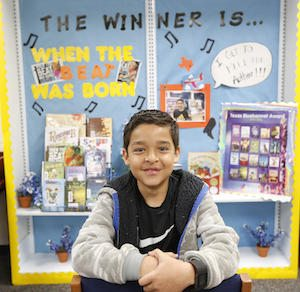 Mesita Student to Introduce Award-Winning Author at Houston Conference