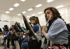 Bowie Band Program Growing and Improving