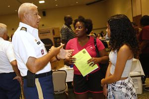 Video+Story: Fort Bliss Education Fair Caters to New, Existing Military Families