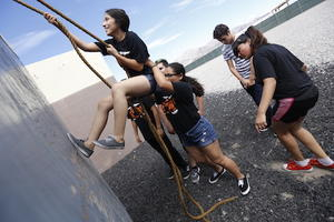 El Paso High Cub Camp Encourages Camaraderie and Teamwork