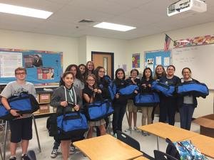 Hornedo Students help out El Paso Children in Need