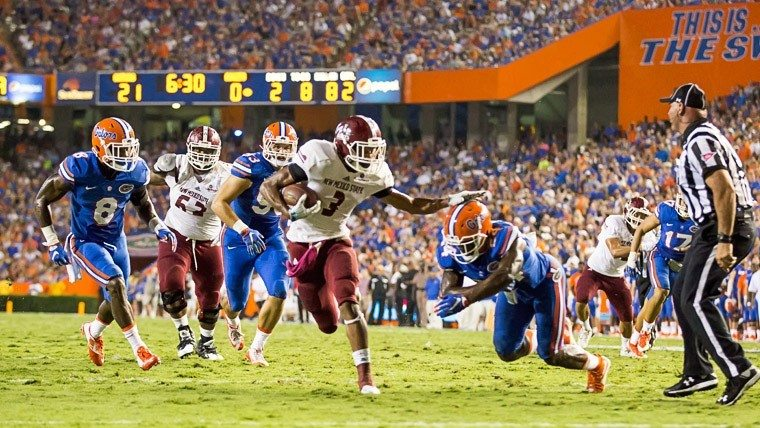 NMSU Aggies fall to Florida 61 to 13