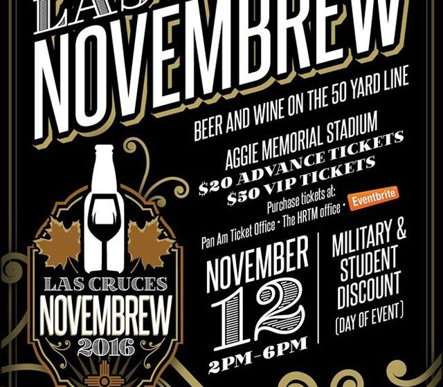 NMSU to Host the Novembrew Beer and Wine Festival Saturday
