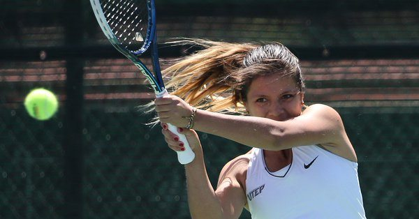 Miner Tennis Wraps Up UNLV Invitational