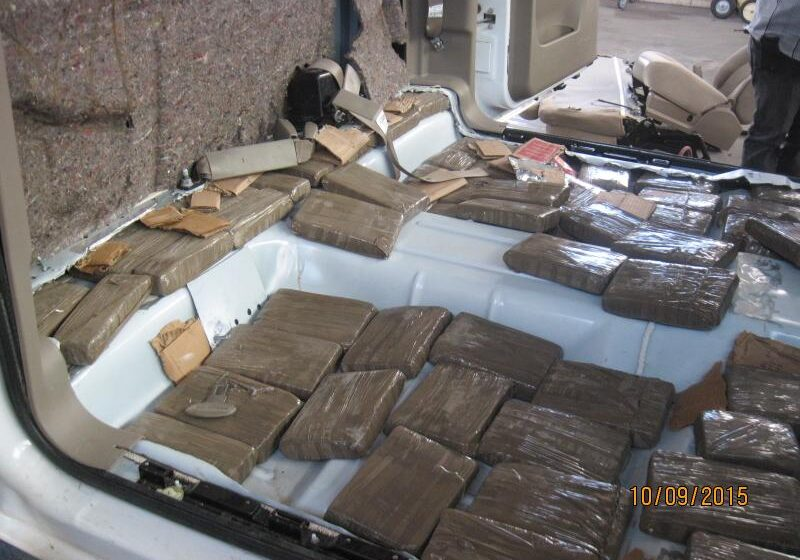 CBP Officers snag one ton of pot in 9 different busts