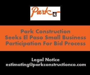Park Construction Seeks El Paso Business Participation for Bid