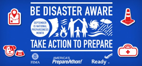 Department of Public Health Celebrates National Preparedness Month; Pets Included at Event