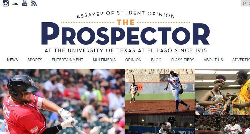 UTEP Students Receive Multiple Texas Intercollegiate Press Association Awards