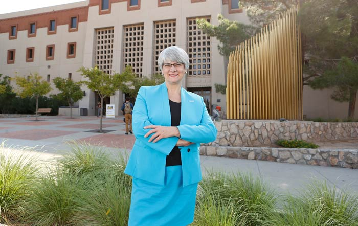 Due Diligence: New UTEP Provost Proves Hard Work Pays Off