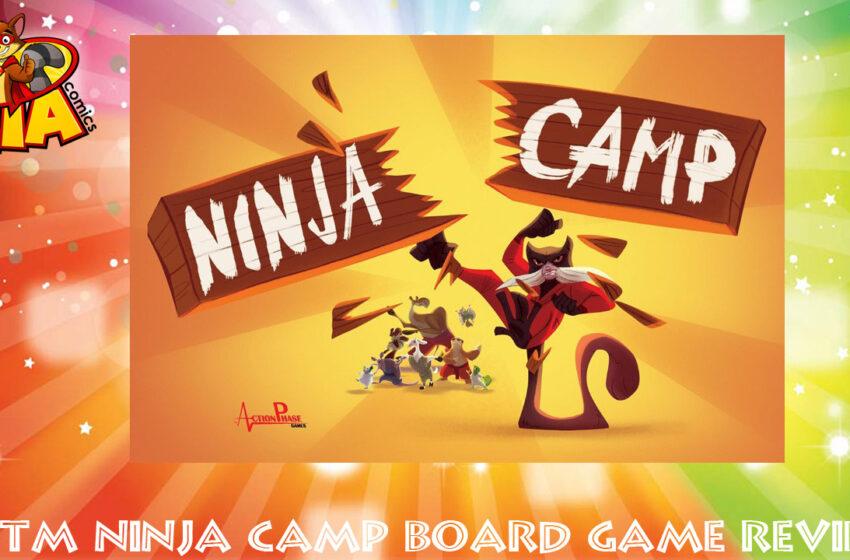TNTM Ninja Camp board game review