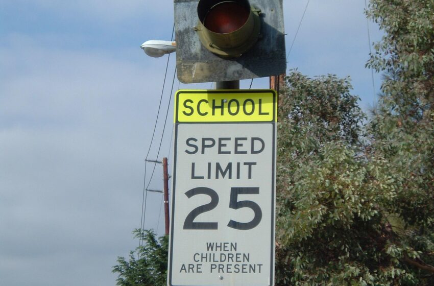 Installation of School Zone Safety Flashers Begins Today