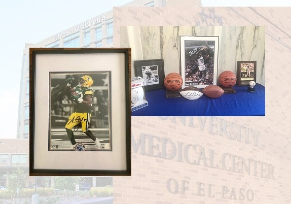 UMC, El Paso Children's Hospital Foundations' Volunteer Corps three day Sports Memorabilia Auction begins Tuesday