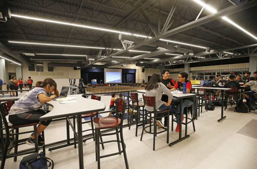 New-Look Mountain View High School Shines for Residents, Students